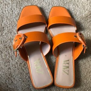 Like new Zara sandals.